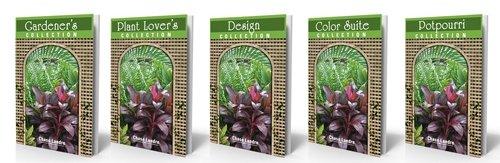 Column Collection ebook covers - Gardener's, Plant Lover's, Design, Color Suite, Potpourri